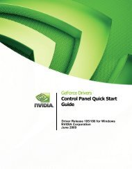 Control Panel User's Guide - PNY