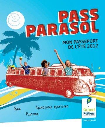 Le programme du Pass Parasol - ToutPoitiers