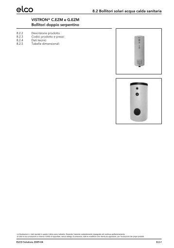 Dati tecnici completi - Elco Ecoflam