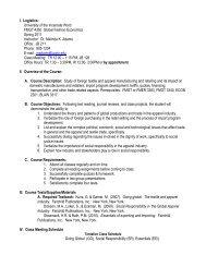 FMGT 4350 Global Fashion Economics - University of the Incarnate ...