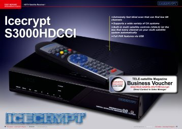 Icecrypt S3000HDCCI - TELE-satellite International Magazine