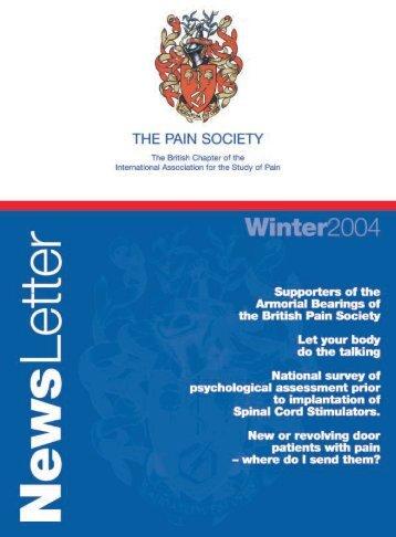 Pain - The British Pain Society