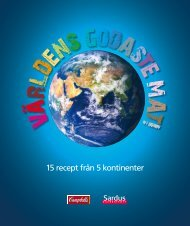 15 recept från 5 kontinenter