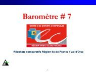 Baromètre # 7 Novembre 2007 - Ordre des experts-comptables de ...
