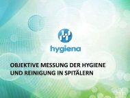 objektive messung der hygiene und reinigung in spitälern