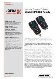 Jofra HPC500 - Blanes Pressure Solutions