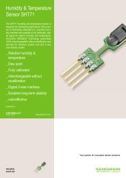Humidity & Temperature Sensor SHT71