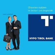 Chancen nutzen - Hypo Tirol Bank AG