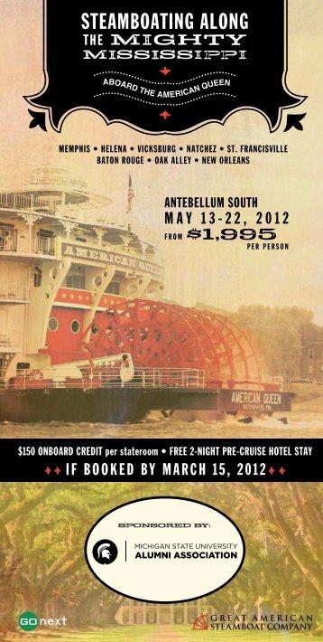 steamboating along - MSU Alumni Association - Michigan State ...