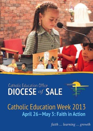 2013 Catholic Education Week Resource - Catholic Education Office ...