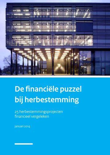 De financiële puzzel bij herbestemming - 25 herbestemmingsprojecten financieel vergeleken (BOEi, januari 2014)