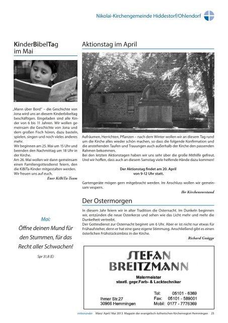 miteinander12 Maerz/Apr/Mai 2013 - miteinander Hemmingen