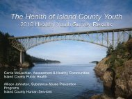 Healthy Youth Survey - Island County Government