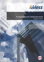 Produktübersicht Gebäudetechnik Ausgabe 2010/11 - AMess