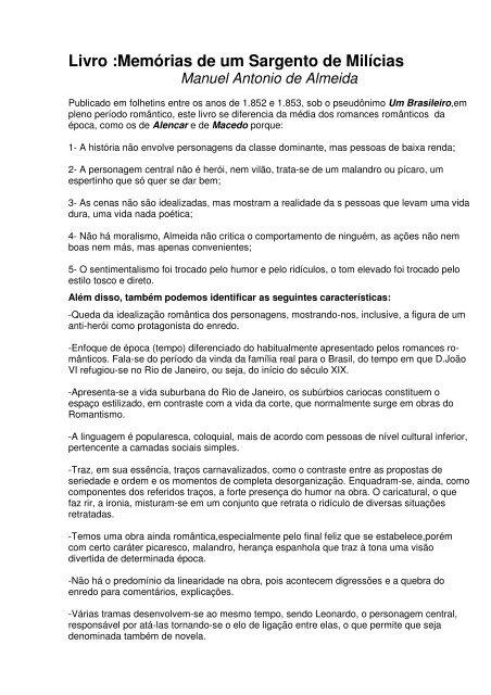 GRATUITO SARGENTO MILCIAS DOWNLOAD DE DE MEMORIAS UM