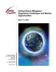 PDF - Orbital Debris Mitigation White Paper - Futron Corporation