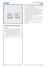 Rel Relays NR8 Thermal Overload Relay