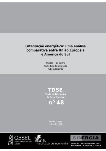 Integração energética - Nuca - UFRJ