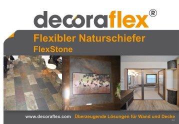 Flexibler Naturschiefer FlexStone