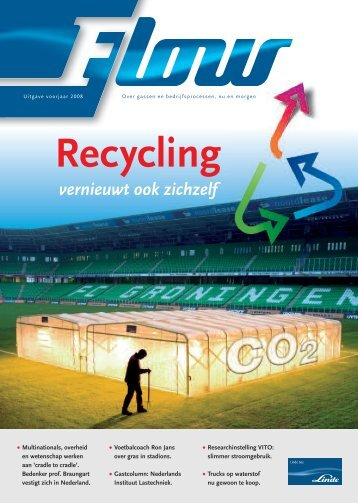 Flow magazine voorjaar 2008 - Linde Gas Benelux