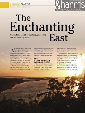 Enchanting East