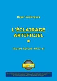 L'ÉCLAIRAGE ARTIFICIEL
