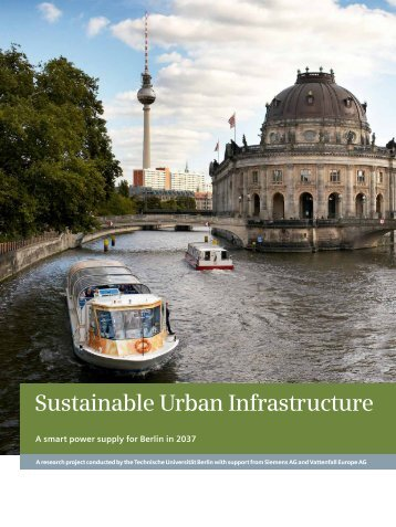 Sustainable Urban Infrastructure - The Crystal