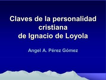Claves de la personalidad cristiana de Ignacio de Loyola - Cerpe