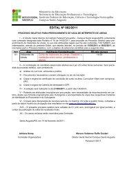 EDITAL 02.2011 - Instituto Federal Farroupilha