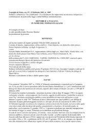 Consiglio di Stato, sez. IV, 19 febbraio 2013, n. 1007 ... - Ediltecnico