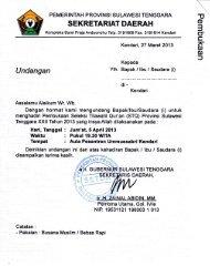 undangan pembukaan seleksi tilawatil quran - Kementerian Agama ...