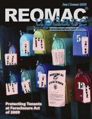 Protecting Tenants at Foreclosure Act of 2009 - reomac