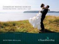 chambers bay wedding showcase - Cybergolf