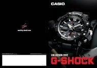 PDF catalog - G-SHOCK.com