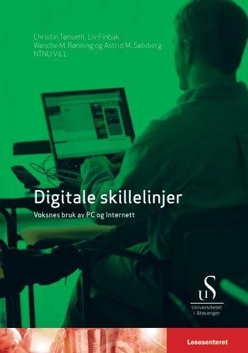 Digitale skillelinjer - Lesesenteret - Universitetet i Stavanger