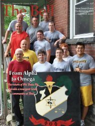 (Complete Issue), Fall 2010 - Thiel College