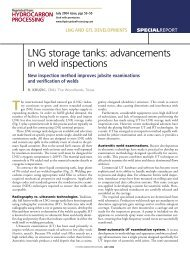 Advancements in Weld Inspections - CB&I