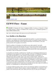 EEW93 Flore - Faune