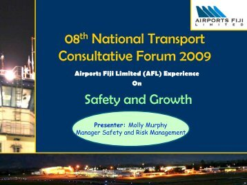 Safety & Growth - Transport Planning Unit