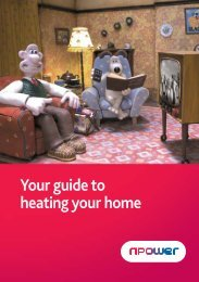 Your guide to heating your home - Npower