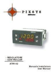 CO N TRO LLER ATR142 Manuale Installatore User Manual