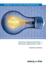 Benchmark Opportunitas Zertifikate - Hedgeconcept.de