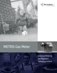 METRIS Gas Meter - Burnerparts