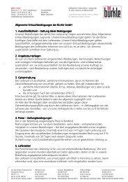 [Text eingeben] Allgemeine Einkaufsbedingungen der Bürkle GmbH ...
