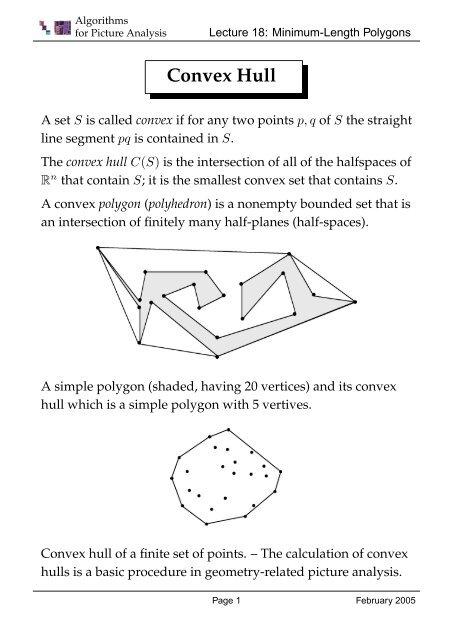 Relative Convex Hull