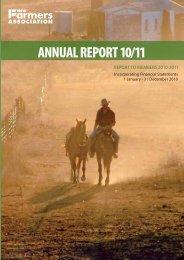 2010/11 Annual Report - NSW Farmers Association