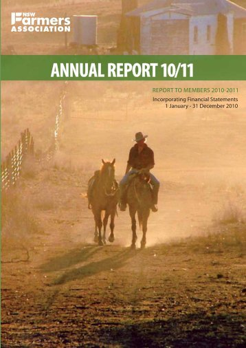 2010/11 Annual Report - NSW Farmers Association