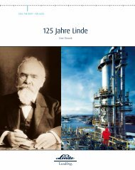 125 Jahre Linde - The Linde Group