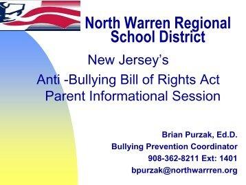 Parent Community Information Session – Anti-Bullying Presentation