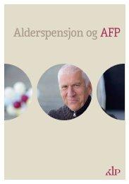 Alderspensjon og AFP - KLP